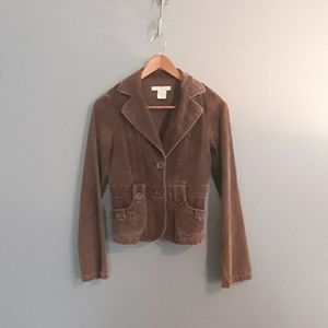 Charlotte Russe Brown Corduroy Jacket